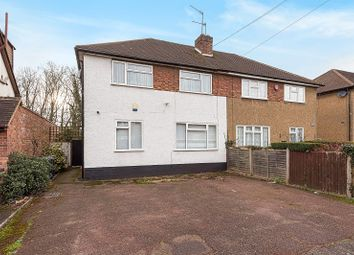 Thumbnail 3 bed semi-detached house for sale in Sandymount Avenue, Stanmore, Greater London.