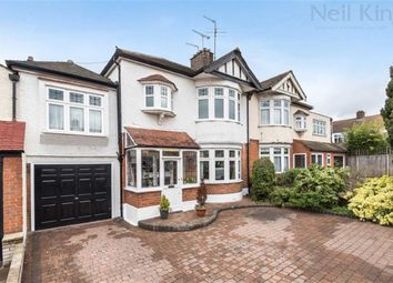 Thumbnail 4 bed semi-detached house for sale in Raymond Avenue, South Woodford, London