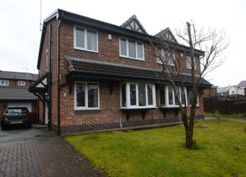 Thumbnail 3 bed semi-detached house for sale in Soulby Close, Blackburn, Lancashire