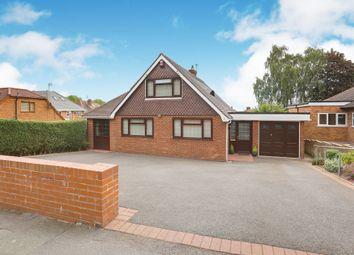 Thumbnail 4 bed detached bungalow for sale in Park Drive, Goldthorn Hill, Wolverhampton
