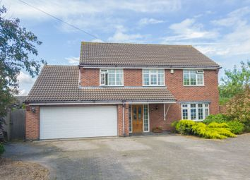 Thumbnail 5 bed detached house for sale in Brocks Hill Close, Oadby, Leicester
