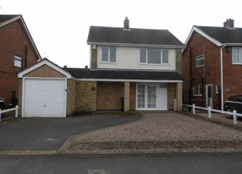 Thumbnail 3 bed detached house for sale in Hall Lane, Whitwick, Coalville