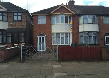 Thumbnail 3 bed semi-detached house for sale in Elizabeth Street, Evington, Leicester