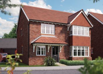 "Thumbnail 4 bedroom detached house for sale in ""The Canterbury"" at Weights Lane, Redditch"