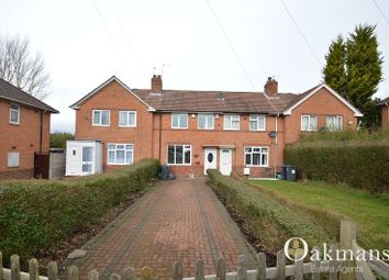 Thumbnail 2 bed terraced house to rent in Harvington Road, Birmingham, West Midlands.