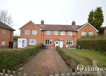 Thumbnail 2 bedroom terraced house to rent in Harvington Road, Birmingham, West Midlands.