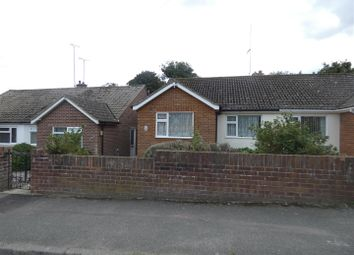 Thumbnail 2 bed semi-detached bungalow to rent in Bradstow Way, Broadstairs