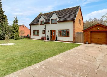 Thumbnail 4 bed detached house for sale in Hazel Old Lane, Hensall, Goole