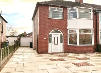 Thumbnail 3 bed semi-detached house to rent in Mossdale Road, Sale