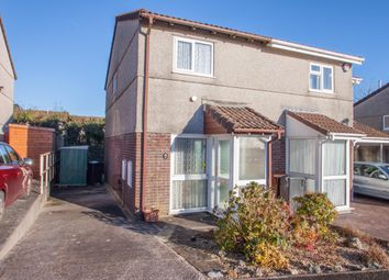 Thumbnail 2 bed semi-detached house for sale in Ferndale Close, Woolwell, Plymouth