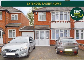 Thumbnail 3 bed semi-detached house for sale in Welford Road, Knighton, Leicester