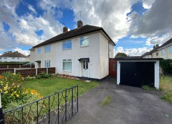 Thumbnail 3 bed semi-detached house for sale in Crowley Close, Nottingham