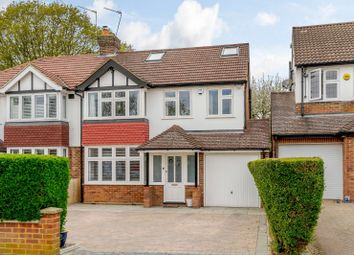 Thumbnail 4 bed semi-detached house for sale in Stanley Avenue, Chiswell Green, St.Albans