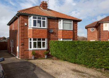 Thumbnail 2 bed semi-detached house for sale in Rawcliffe Avenue, York, North Yorkshire