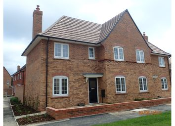 Thumbnail 3 bed semi-detached house to rent in Oxford Blue Way, Bedford