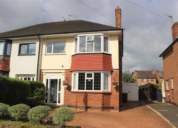 Thumbnail 3 bed semi-detached house for sale in Burnside Road, West Bridgford, Nottingham