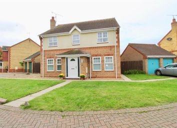 Thumbnail 4 bed detached house for sale in Dunblane Drive, Orton Southgate, Peterborough