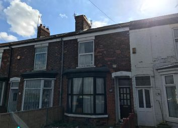 Thumbnail 4 bed terraced house for sale in Clough Road, Kingston Upon Hull