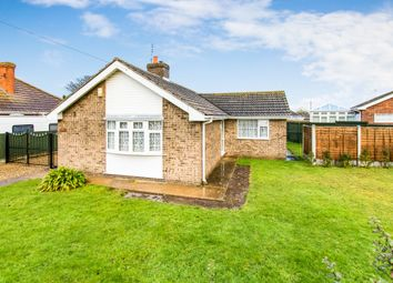 Thumbnail 2 bed detached bungalow for sale in St Leonards Drive, Chapel St. Leonards, Skegness