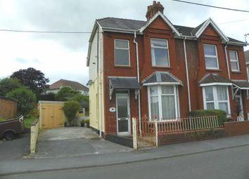 Thumbnail 2 bed semi-detached house for sale in Parkum Villas, Five Roads, Llanelli