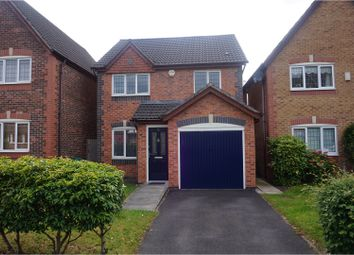 Thumbnail 3 bed detached house for sale in Downes Way, Manchester