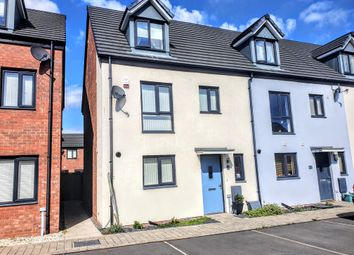 Thumbnail 4 bed end terrace house for sale in Haven Walk, Barry