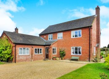 Thumbnail 5 bedroom detached house for sale in Warners End, Scoulton, Norwich