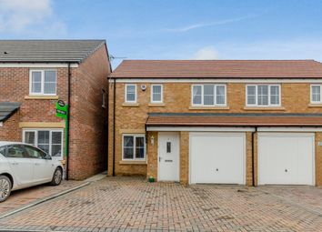 Thumbnail 3 bed semi-detached house for sale in Halton Grove, Blyth, Northumberland