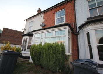 Thumbnail 2 bed terraced house to rent in Vivian Road, Harborne, Birmingham