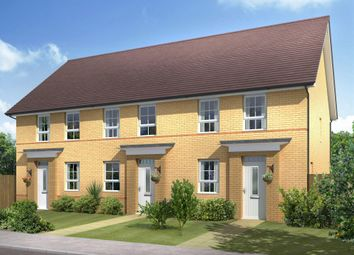 "Thumbnail 3 bed terraced house for sale in ""Bampton"" at Knights Way, St. Ives, Huntingdon"