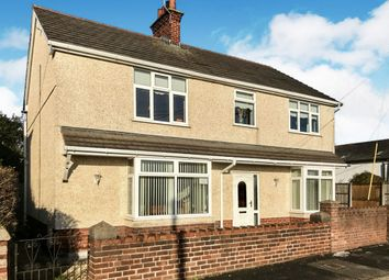 4 bed detached house for sale in Spon Green, Buckley CH7