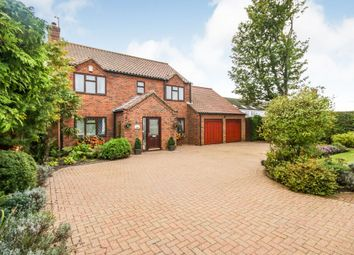 Thumbnail 4 bed detached house for sale in Mays Lane, Saxilby, Lincoln