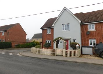 Thumbnail 3 bed semi-detached house for sale in New Road, Elmswell, Bury St. Edmunds