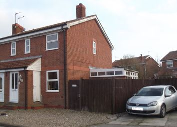 Thumbnail 2 bed semi-detached house for sale in Oak Road, North Duffield, Nr York