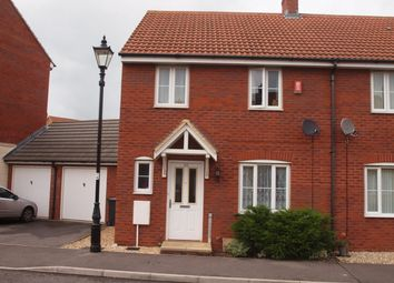 Thumbnail 3 bed semi-detached house to rent in Merevale Way, Yeovil