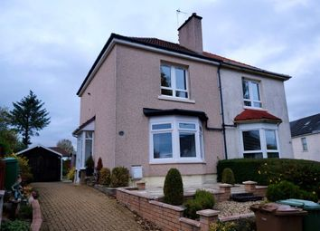 Thumbnail 2 bed semi-detached house for sale in Diana Avenue, Knightswood, Glasgow