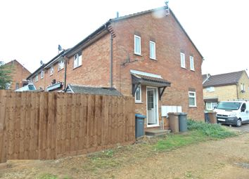 Thumbnail 1 bed end terrace house to rent in Brightwell Close, Felixstowe
