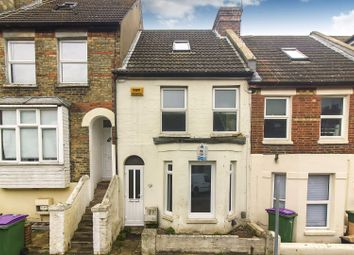Thumbnail 3 bed terraced house for sale in Thanet Gardens, Folkestone