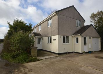Thumbnail 3 bed detached house for sale in Hayle Road, Fraddam, Hayle, Cornwall