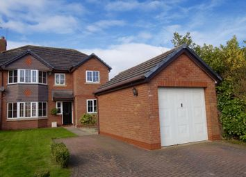 Thumbnail 5 bedroom detached house for sale in Mayfield Court, Garden Village, Wrexham