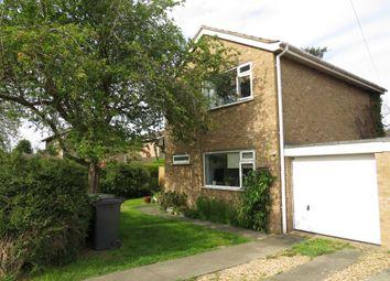 Thumbnail 3 bed detached house for sale in Worthington Close, Stilton, Peterborough