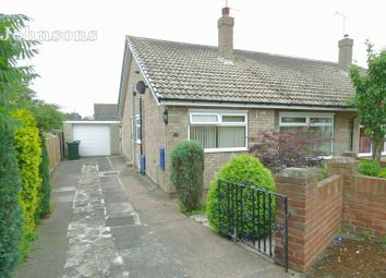 Thumbnail 2 bed semi-detached bungalow for sale in Meadow Rise, Barnby Dun, Doncaster.