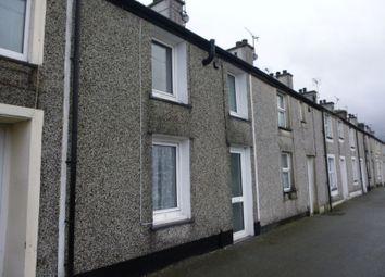 Thumbnail 2 bed terraced house for sale in Water Street, Carneddi, Bethesda, Bangor, Gwynedd.