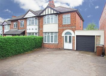 Thumbnail 3 bed semi-detached house for sale in Loughborough Road, Rothley, Leicester, Leicestershire