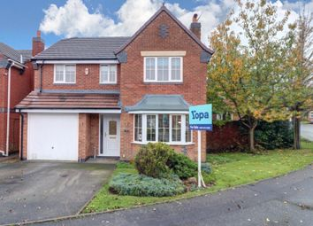 Thumbnail 4 bed detached house for sale in Charolais Crescent, Lightwood, Longton, Stoke-On-Trent