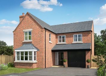 Thumbnail 4 bedroom detached house for sale in William Nadin Way, Swadlincote