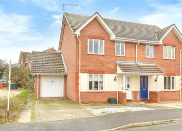 Thumbnail 3 bed semi-detached house for sale in Ison Close, Cranwell