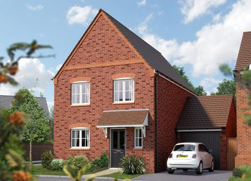 "Thumbnail 3 bed town house for sale in ""The Clarendon"" at Squinter Pip Way, Bowbrook, Shrewsbury"