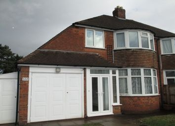 Thumbnail 3 bed property to rent in Halton Road, Sutton Coldfield