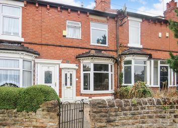 Thumbnail 2 bedroom terraced house for sale in Ragdale Road, Bulwell, Nottingham